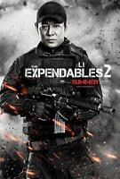 THE EXPENDABLES 2 ORIGINAL 27x40 MOVIE POSTER (2012) STALLONE & LI