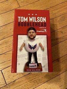Washington Capitals Tom Wilson SGA Promotional Bobblehead Doll 10/27/2021