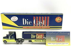 """""""Die Cast Digest"""" 1993 Semi Trailer Hauler 1:64-Scale Action Racing Collectables"""