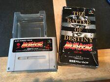 The Battle Of Destiny Super Famicom Snes Japanese NTSC Boxed