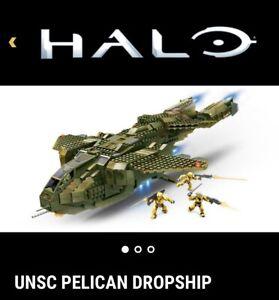 UNSC Pelican 96824 Mego Bloks Halo (Read Description)