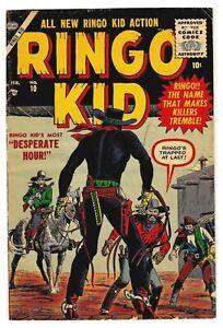 Ringo Kid #10 Golden Age