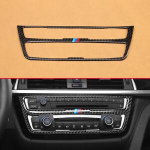 For BMW 3/4 Series Car Dashboard Media Panel A/C Trims F30 F31 F32 F33 F34 F36