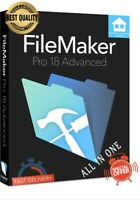 FileMaker Pro 18  Full Version🔑LIFETIME LICENSE🔑OFFICIAL 🔥30 sec DELIVERY