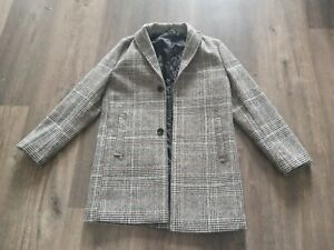 Next Kids Boys Wool Blend Trench Coat