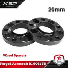 2 PC BMW Wheel Spacers 20mm Thick Fits E46 323 325 328 335i 545i 72.56 Hub Bore