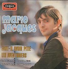 MARIO JACQUES LES AVENTURIERS FRENCH ORIG EP PAUL RAKO