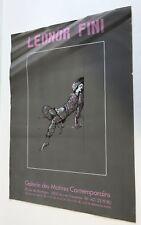 Leonor Fini Affiche - lithographie An 70's Estampes Surréalistes Art Fantastique