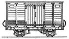 Dundas Models DT03 Tralee and Dingle Railway Butter Van Kit OON3 Gauge