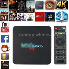 4K 8GB Amlogic S905x Quad Core Android 6.0 HD Smart TV Box Set WiFi Media Player