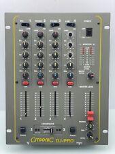 CITRONIC DJ-PRO Mixing Console Audio Mixer Dj Equipment Music Mischmaschine Mix