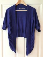 Athleta Purple Open Front Cardigan Sweater, Size Small