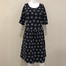 625bb6152d0 Boden Women's Navy Blue Polka Dot Print Dress with Pockets Sz. 14 Long