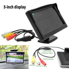 """5"""" 800*480 Digital TFT LCD Color Car Rear View Monitor Screen for Parking Backup"""