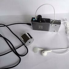 NEW Spy Microphone Audio Ear Listening Device Amplifier Bug Wall/Door Voice