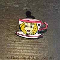 Disney HM Princess Tea Cups Sleeping Beauty Aurora Pin (UA:71402)
