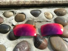 Red Iridium Polarized Replacement Lenses for-Oakley Fuel Cell Sunglasses
