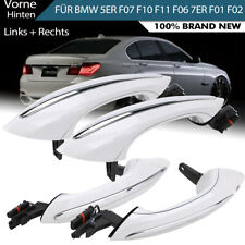 4x White Exterior Comfort Access door handle Set for BMW F10 F01 F02 F06 F11 F18