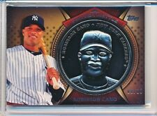 ROBINSON CANO 2013 TOPPS PROVEN METTLE STEEL COMMEMORATIVE COIN PARALLEL #'D /10