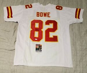 Chiefs DWAYNE BOWE  Signed Autographed Football Jersey JSA COA size XL