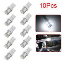 targa lampada 10smd white t10 w5w mille 158 192 168 194 led auto lampadine
