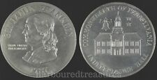 Benjamin Franklin Independence Hall Commonwealth Of Pennsylvania Medal