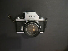 New ListingVintage Used Nikon Ftn 35mm Slr Camera Body & Normal Lens