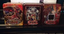 Yugioh Collectors Tin Lot Summon Skull Red Nova Dragon Volcanic Doomfire Empty
