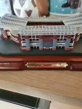 Manchester united old trafford official stadium model with c.o.a mufc man utd