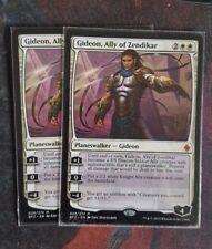 Mtg Gideon, ally of zendikar x 1 good condition
