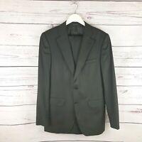 Mens zara Black pinstripe Suit size 40 jacket 31 trousers