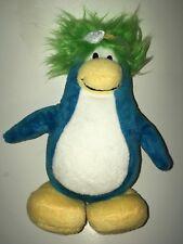 "Disney Club Penguin Blue And White Penguin    8"" Plush Stuffed Animal"