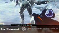 Destiny 2 Garden Full Raid + TRIUMPH: STOP HITTING YOURSELF (PS4/Cross save Only