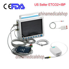 ETCO2&IBP ICU Patient Monitor 6 parameters Vital Sign ECG/NIBP/RESP/TEMP/SPO2/PR