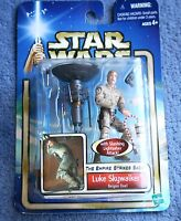 STAR WARS THE EMPIRE STRIKES BACK LUKE SKYWALKER WITH SLASHING LIGHTSABER ATTACK