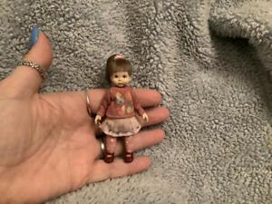 Miniature handmade MINI LITTLE GIRL CHILD ooak DOLLHOUSE sculpt DOLLS HOUSE 1/12