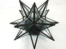 Sputnik Star Glass Wall Light Fixture