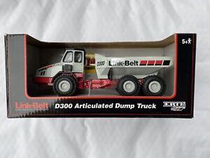 ERTL Link-Belt D300 Articulated Dump Truck 1/50 Scale Die-Cast Replica #13193