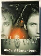 X-Files  Premiere Starter Deck  60 card Decks CCG SEALED