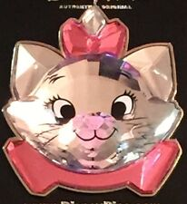 Disney DLR The Aristocats Marie Crystal Head Pin New On Original Card