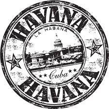 "Havana City Cuba Travel Car Bumper Sticker Decal 5"" x 5"""