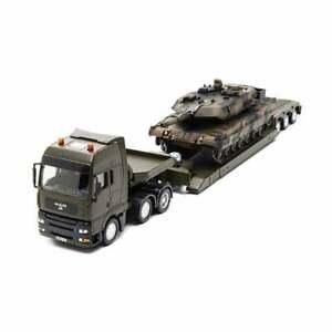 Siku  Military transport Low Loader with tank  1:50 8612   UK seller