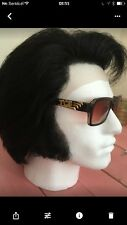 ELVIS IMPERSONATOR  PROFESSIONAL HUMAN HAIR L FRONT WIG FOR JUMPSUIT