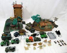 1990's Matchbox Jurassic Park Lost World Lot Figures Vehicles Dinosaurs Playsets
