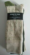 Kenneth Cole New York Dress Socks, Men's Green/Tan/White 6 Pair Size 6-12