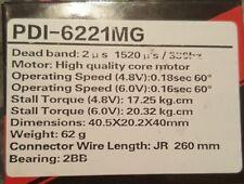 JX PDI-6221MG Metal Gear Digital 4.8-6 V Servo