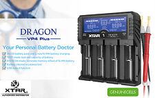 XTAR DRAGON VP4 PLUS PREMIUM Li-ion/Ni-MH LCD Charger