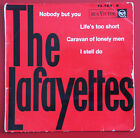 EP The Lafayettes : Nobody but you + 3 VG+/VG++ 1962