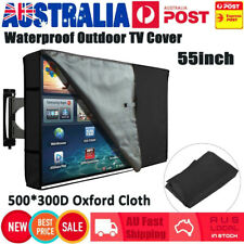 55 Inch Waterproof TV Cover Outdoor Patio Flat Television Dustproof Protector