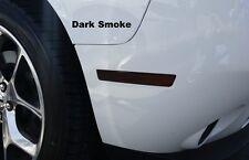 2016 Challenger Front&Rear Side Marker +Rear reflector vinyl overlays smoke tint